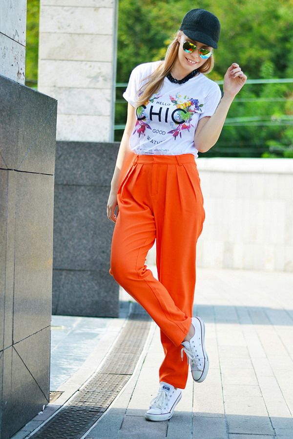 ag on i ya blogger top sunglasses pants shoes hat