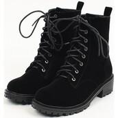 shoes,combat boots,velvet,black,boots