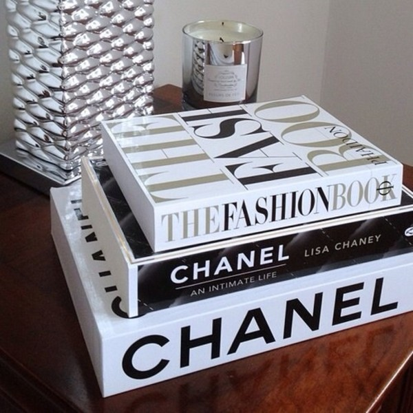 Jewels Chanel Book Fashion Book Home Accessory