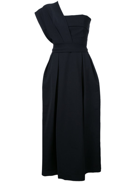 dress evening dress women spandex black