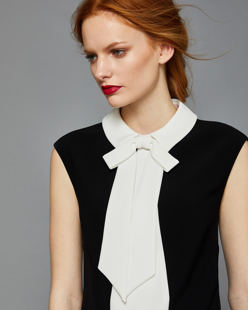 Ted Baker top bow black