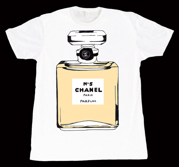 Chanel Perfume Bottle T-Shirt / THE COUTURE CLOSET