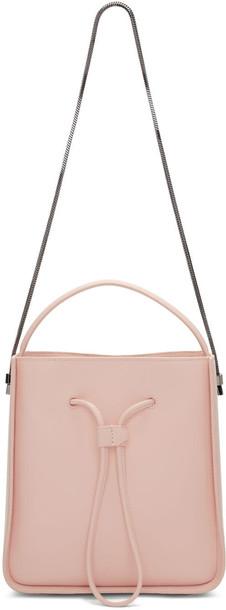 bag bucket bag pink