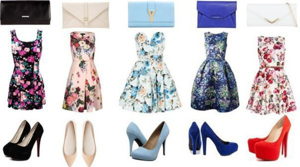 dress dress blue