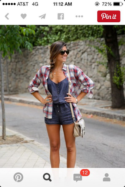 romper jeans romper jeans flannel