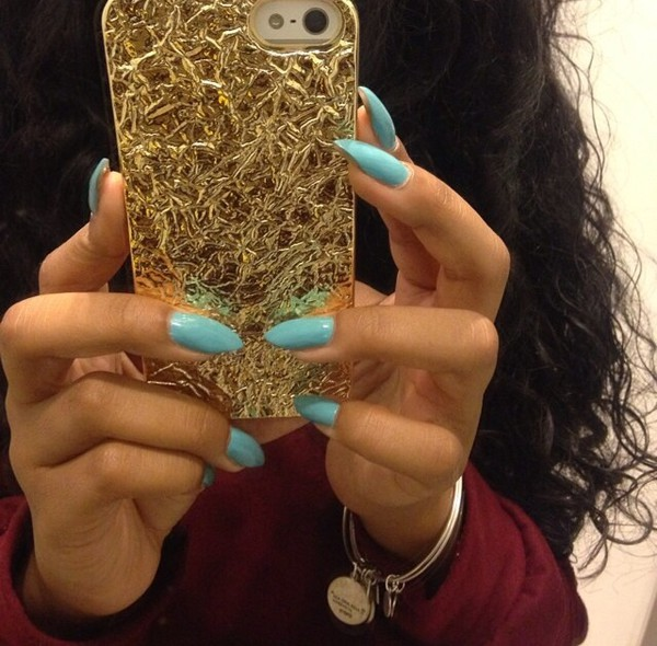 sale retailer 80ecf 6282d Crushed Metallic Phone Case | FOREVER 21 - 1000071351