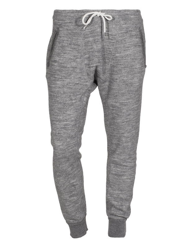 DSQUARED  Sporty Heathered Grey Melierte Jogginghose - Sale