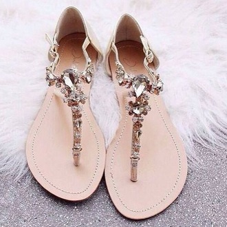 shoes beige shoes rhinestones summer shoes