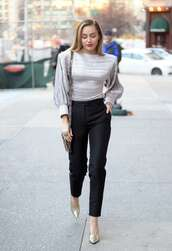shoes,miley cyrus,celebrity,silver,metallic,pants,top,blouse