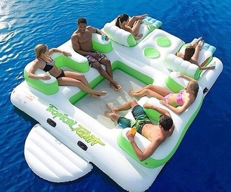 bag home accessory floating party barge pool accessory summer holidays
