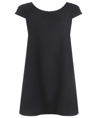 LOVE Black Shift Dress - In Love With Fashion