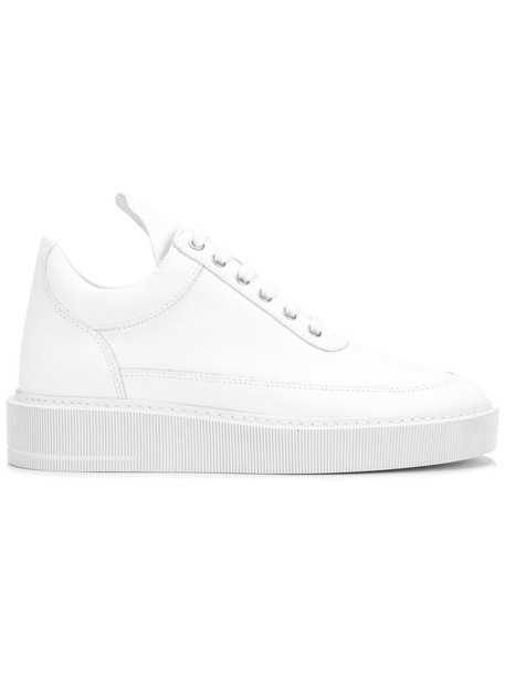 Filling Pieces basic women sneakers leather white shoes