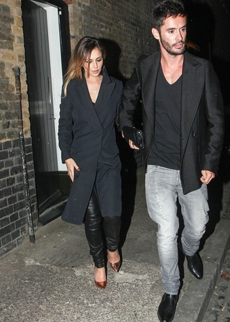 shoes metallic cheryl cole jacket