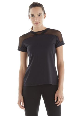top black designer mesh activewear bikiniluxe