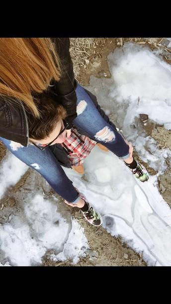 jeans shoes vans