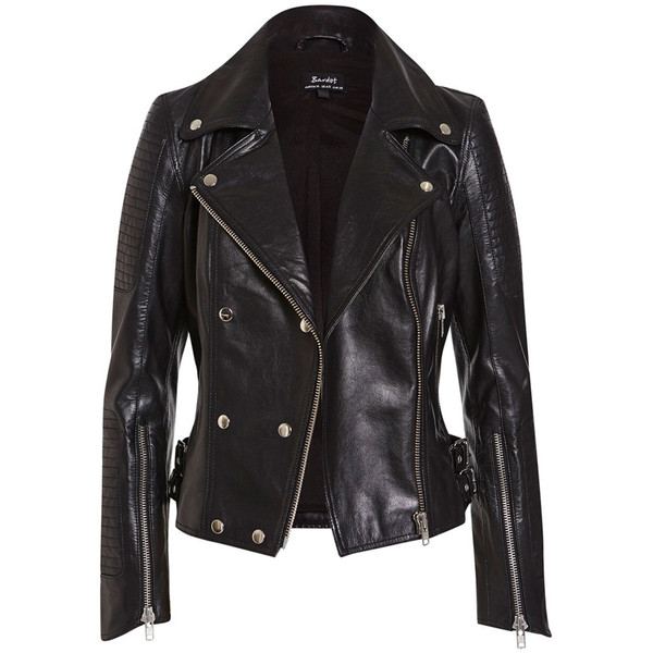 Leather Biker Jacket - Polyvore