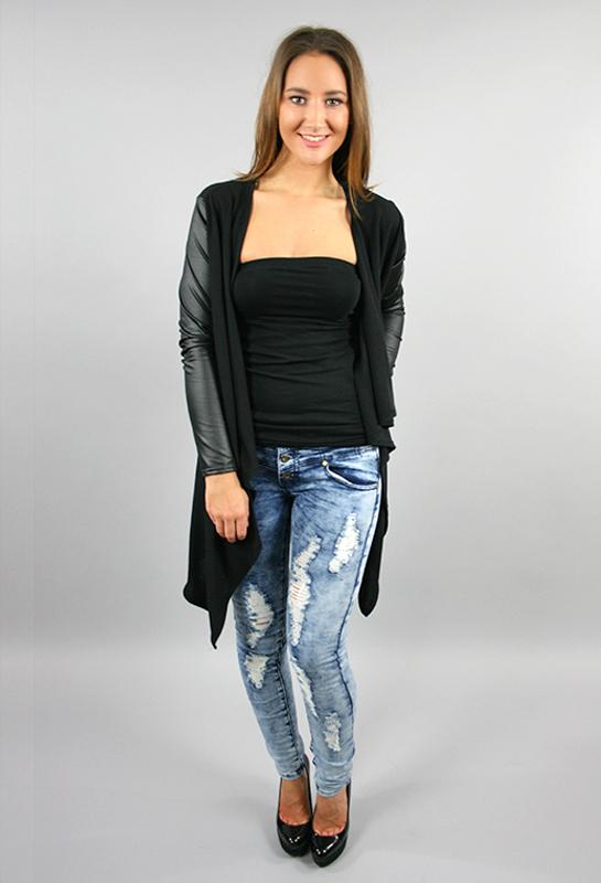Distressed Lightwash Macy Jeans