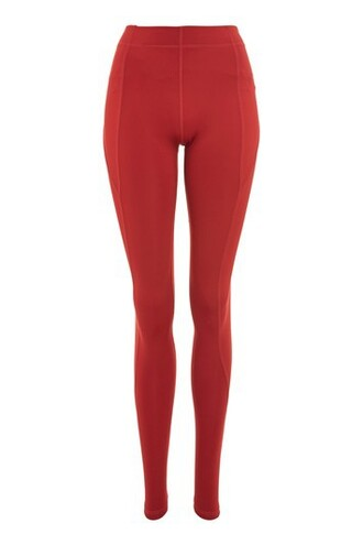 leggings red pants