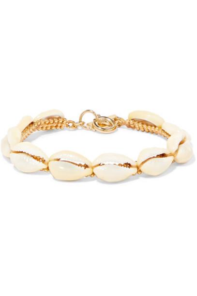 shell gold jewels