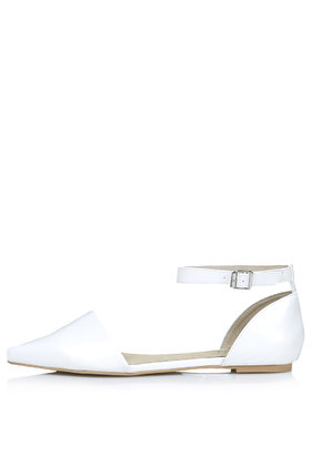 Part pointed flats