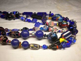 jewels bracelet royal blue girl cute unique handmade