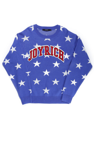 ALL STAR KNIT CREW / BLUE - JOYRICH Store