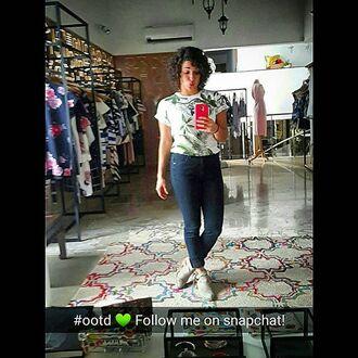 t-shirt yeah bunny tropical palms pina colada jungle