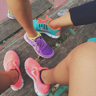 shoes bag color brand nike running shoes nike roshe run exercise sneakers cute shoes light blue nike free runners