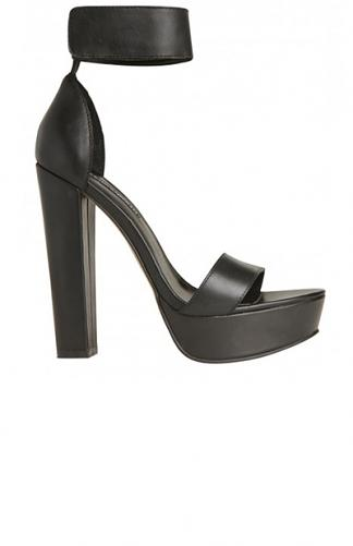 Windsor Smith - Malibu Heel - Black | New Arrivals | Peppermayo
