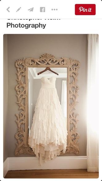 dress ivory ruffled wedding dresss wedding dress ruffle