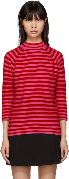 Marc Jacobs sweater pink red