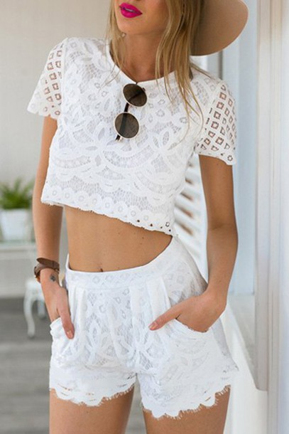 e13dff39c80 romper zaful beach summer lace sunglasses hipster crop tops boho chic  fashion bikini bra harem pants