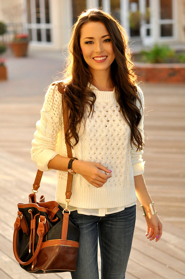 hapa time sweater shoes bag sunglasses jewels