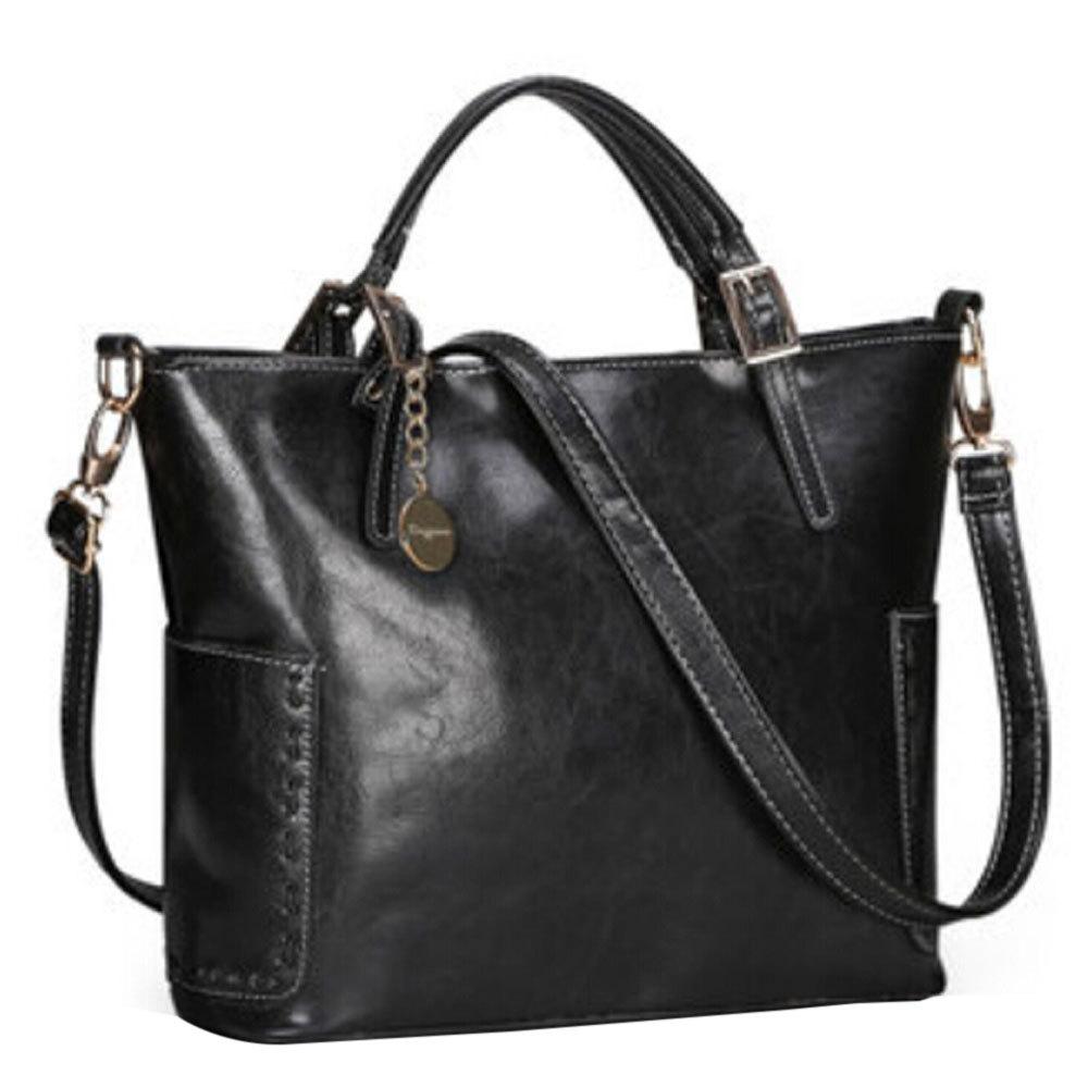 [grxjy5204206]Multicolor Vintage Bucket Handbag Shoulder Bag Cross Body Bag