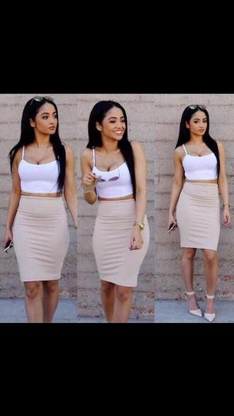 dress and top pink skirt