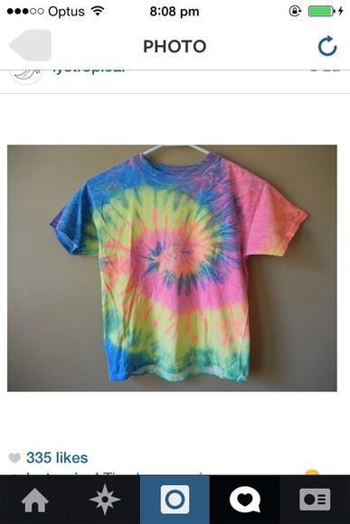 tie dye tiedye hipster