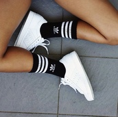 socks,adidas,shoes,black,white,stan smith,superstar,logo
