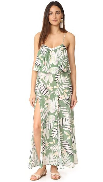 dress maxi dress maxi tropical