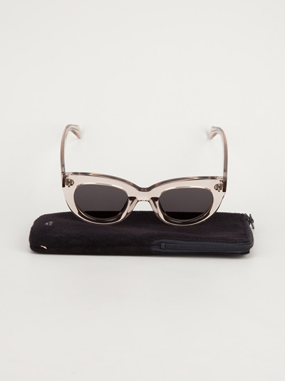 Céline Chunky Cat-eye Sunglasses - Diverse - Farfetch.com