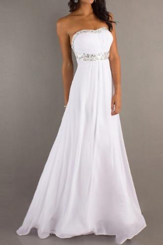 dress robe de soirée prom dress prom ivory dress white white dress fashion long prom dress long dress ball gown dress princess wedding dresses princess dress simple wedding dresses jumpsuit
