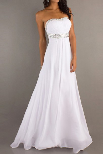 dress robe de soirée prom dress prom ivory dress white white dress fashion long prom dress long dress ball gown dress princess wedding dresses princess dress simple wedding dresses jumpsuit