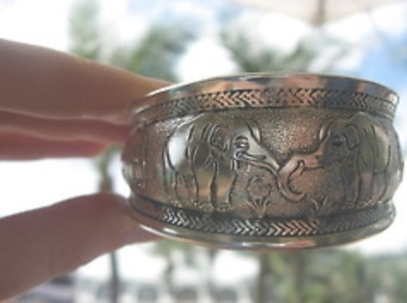 indian jewels bracelet cuff elephant elephants