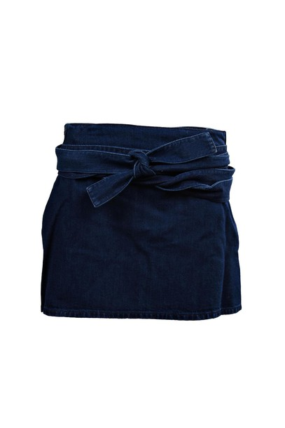 J.W. Anderson skirt denim skirt denim leather