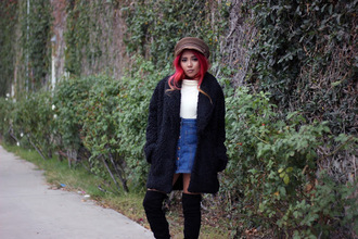 the river wolf blogger skirt hat shoes