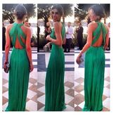 prom dress,green dress,green,dress,backless,long dress,torquise,prom,halter neck,pretty,pinterest,halter dress,gown,maxi dress,emerald green,evening dress,backless dress,green long backless dress,tropical green,wedding guest dress,low boots,floor length dress,wedding guest,long prom dress,green prom dress,emerald green gown,cross back prom dress,beautiful,style,open back,backless prom dress,girly,girl,wedding