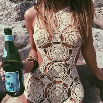 swimwear indah swimwear crochet knit one piece