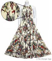 dress,chiffon,pleated,floral,sleeveless,maxi dress,summer,evening dress,ladies,cute,lovely
