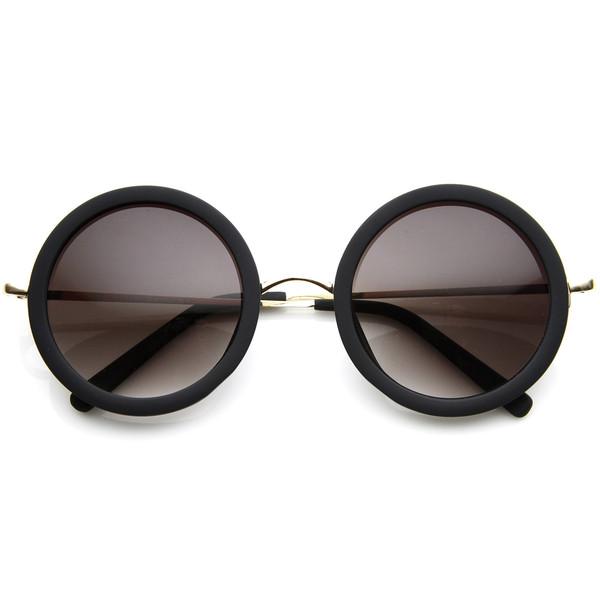 0467981cf Extravagant Designer Womens Pearl Round Fashion Sunglasses 8527