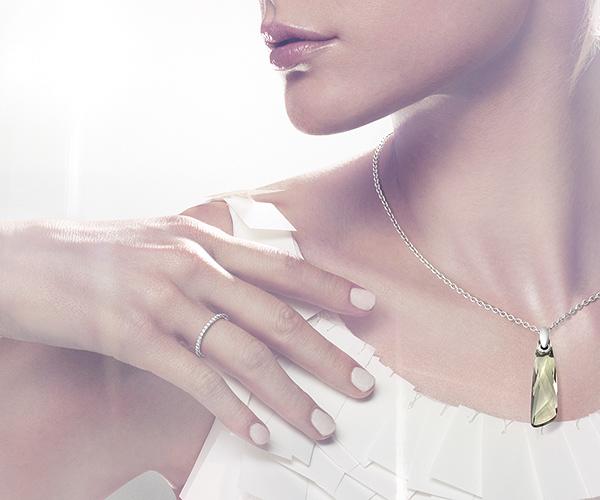 Vittore White Ring - Jewelry - Swarovski Online Shop