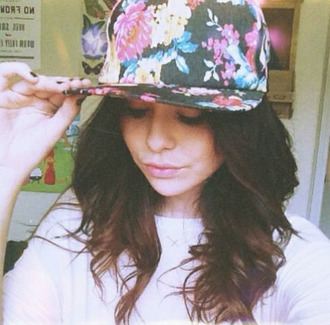 hat acacia brinley acaciabrinley instagram striped acacia brinely floral snapback printed snapback